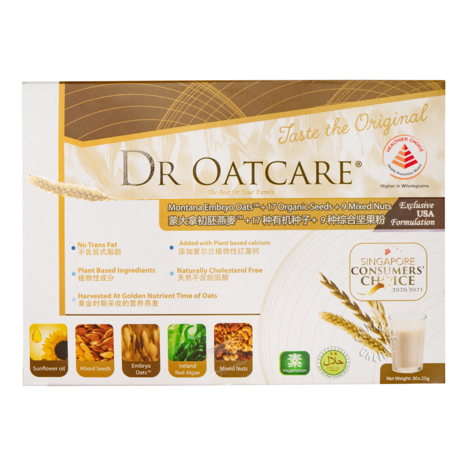 Health Domain Dr OatCare Supplement Drink
