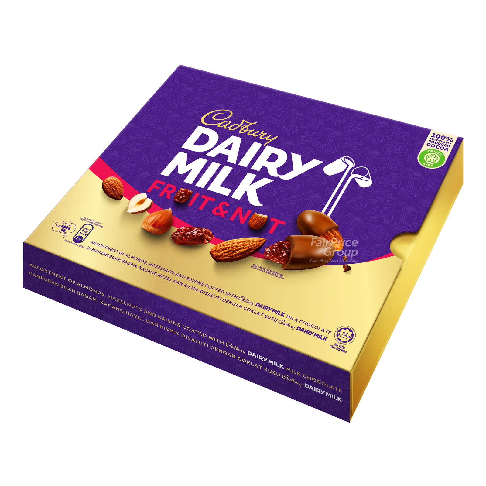 Cadbury Dairy Milk Chocolate Tin - Fruit & Nuts