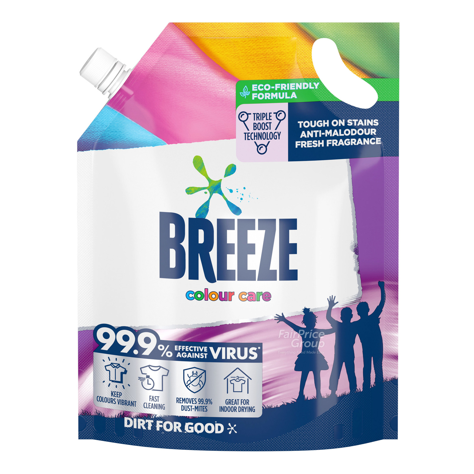 Breeze Liquid Detergent Refill - Colour Care