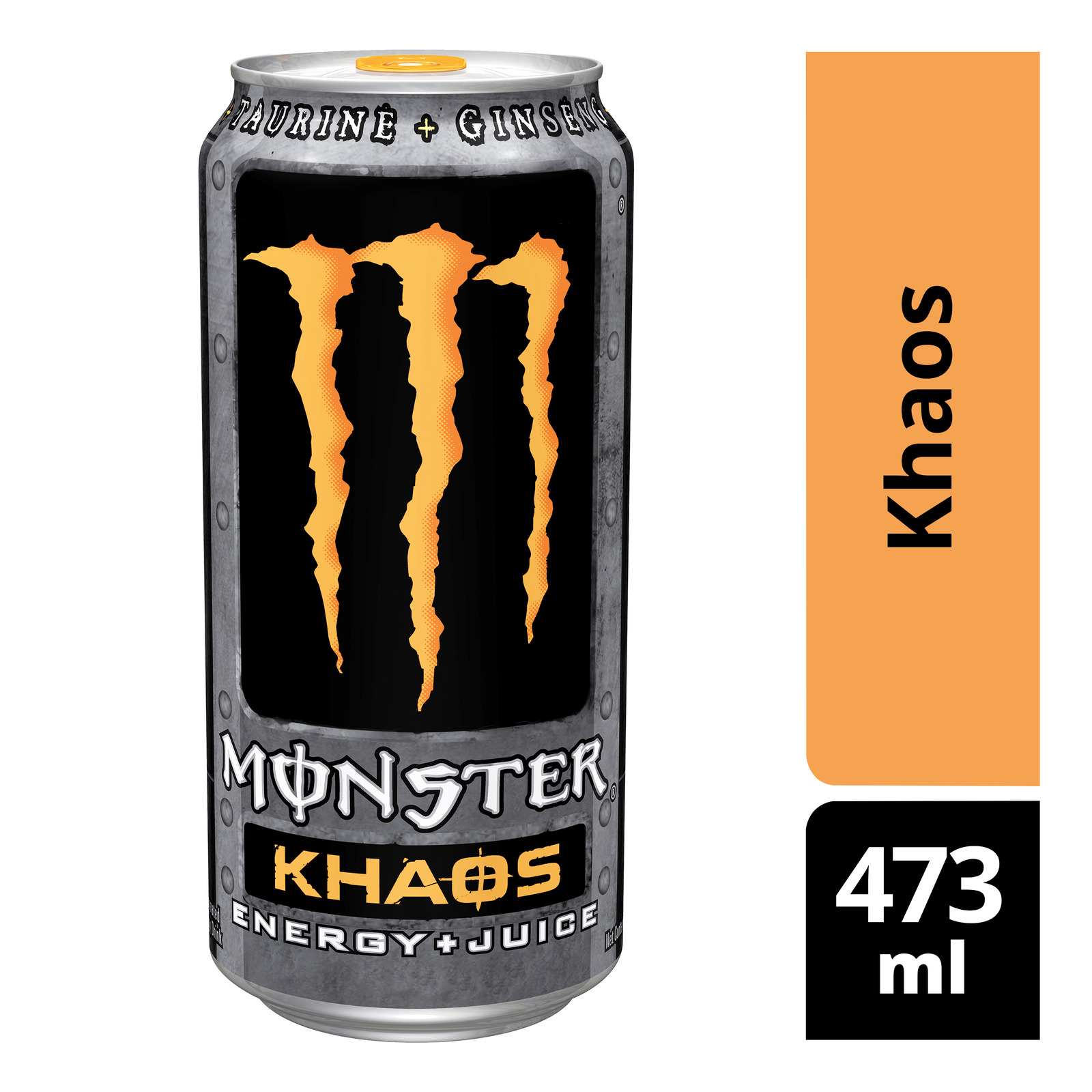 Monster Energy + Juice Can Drink - Khaos