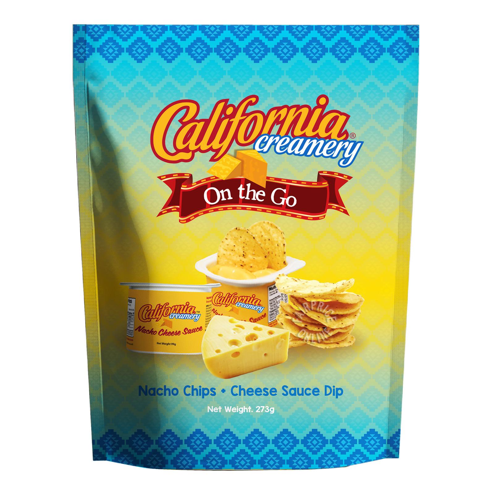 California Creamery Tortilla Chips - Nacho Cheese Sauce