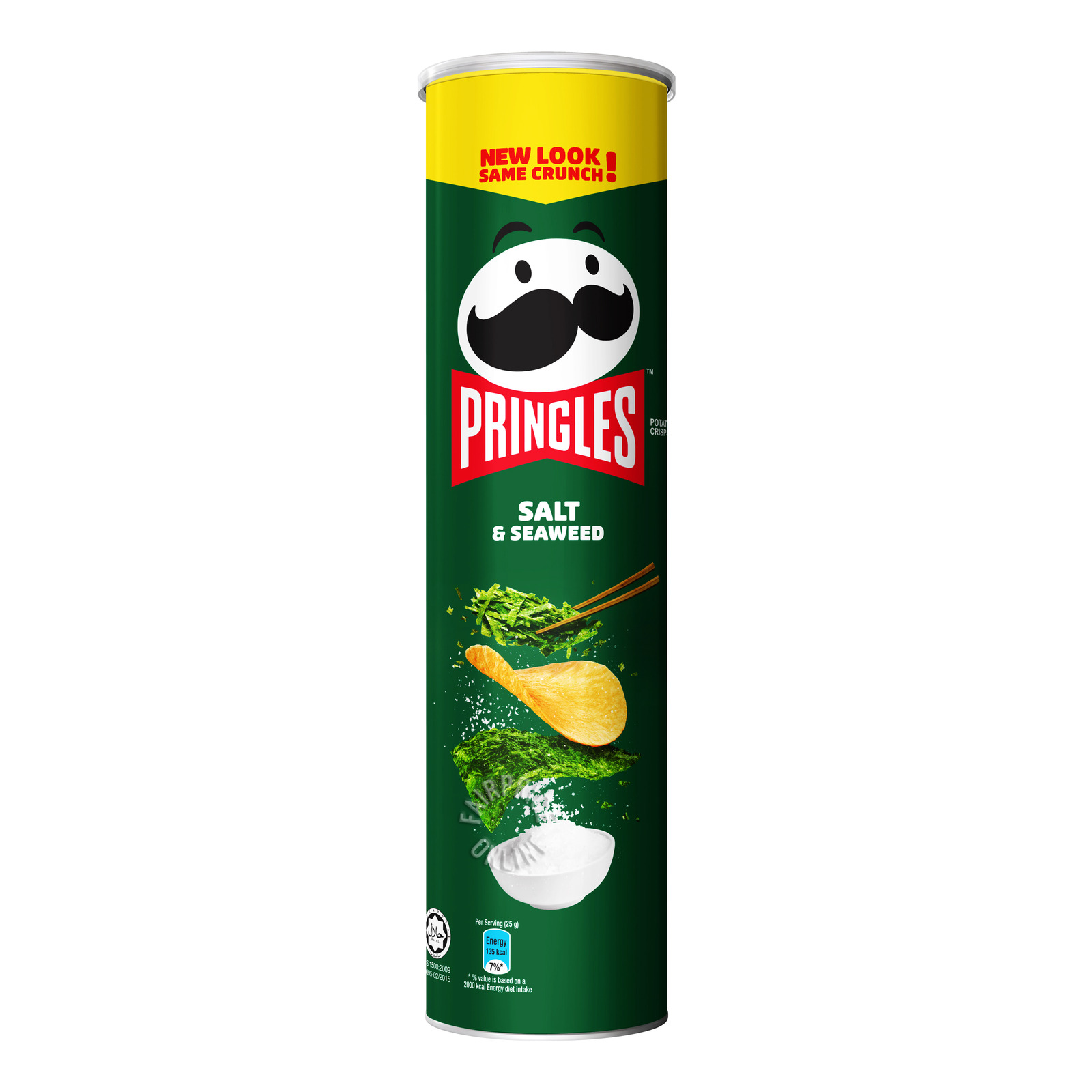 Pringles Potato Crisps - Salt & Seaweed