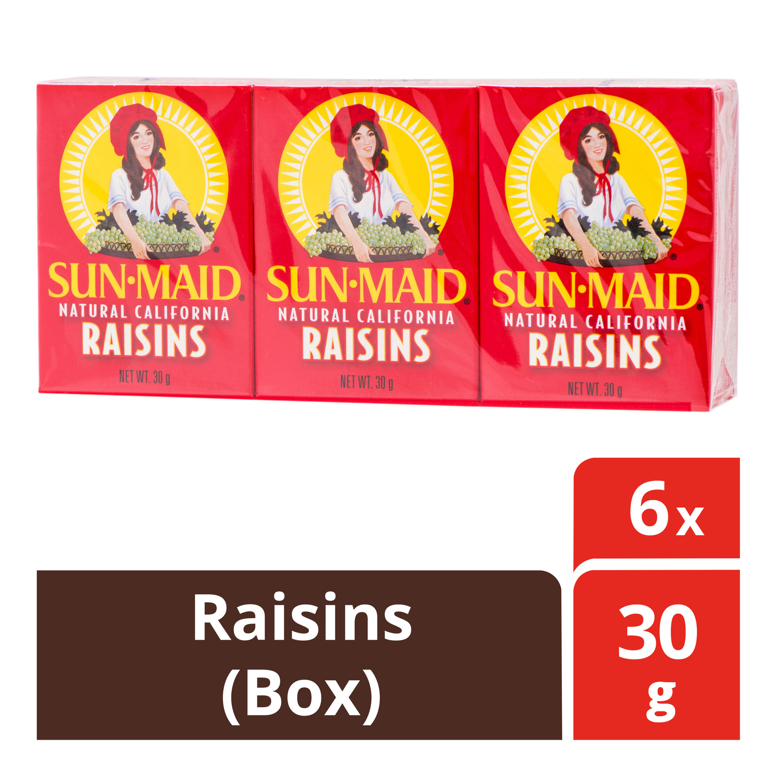 Sun-Maid Natural California Raisins - Box