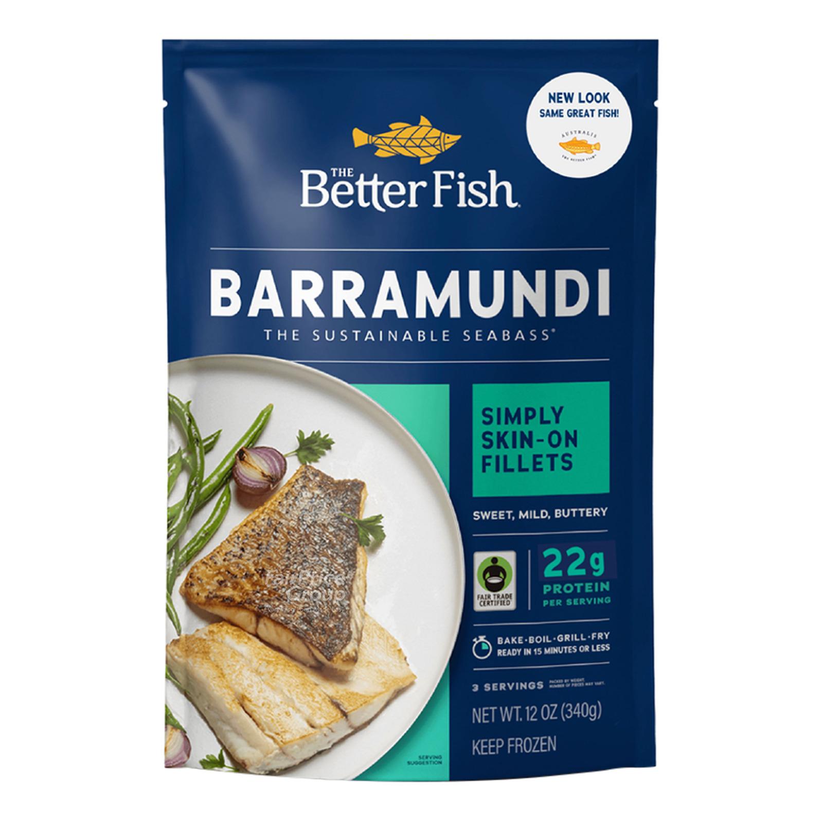 Australis Barramundi Frozen Seabass - All Natural