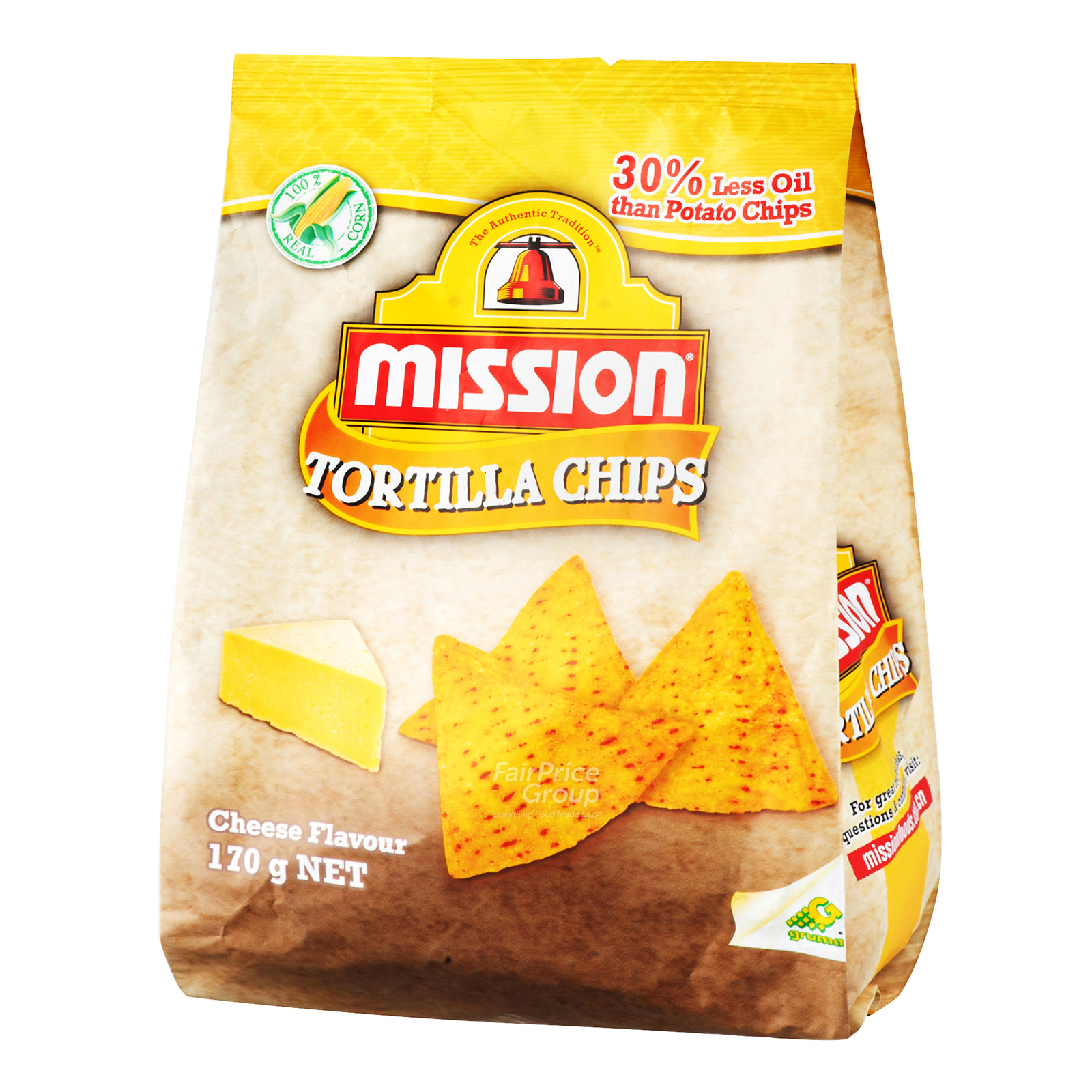Mission Tortilla Chips - Cheese