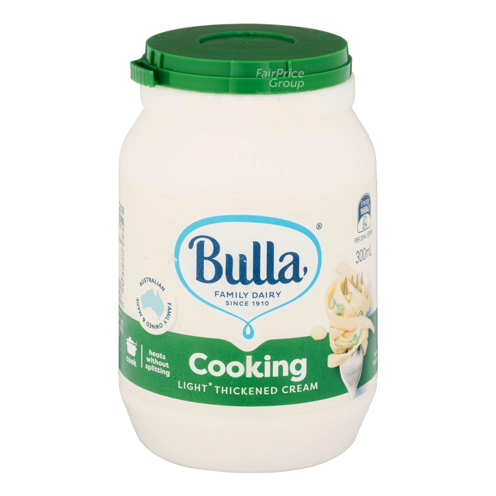 Bulla Thickened Cream - Cooking (Light)