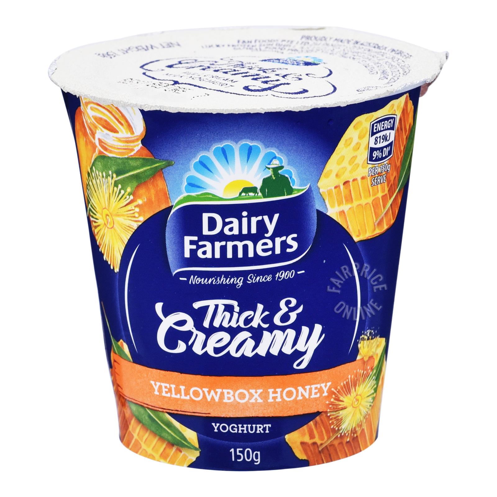 Dairy Farmers Thick & Creamy Yoghurt - Yellow Box Honey