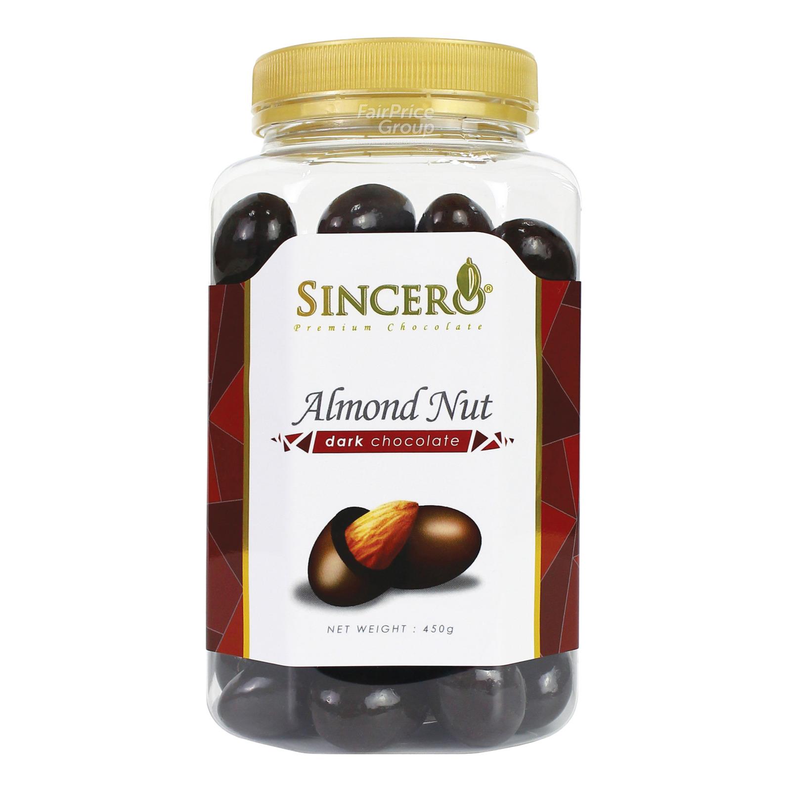 Sincero Dark Chocolate - Almond Nut