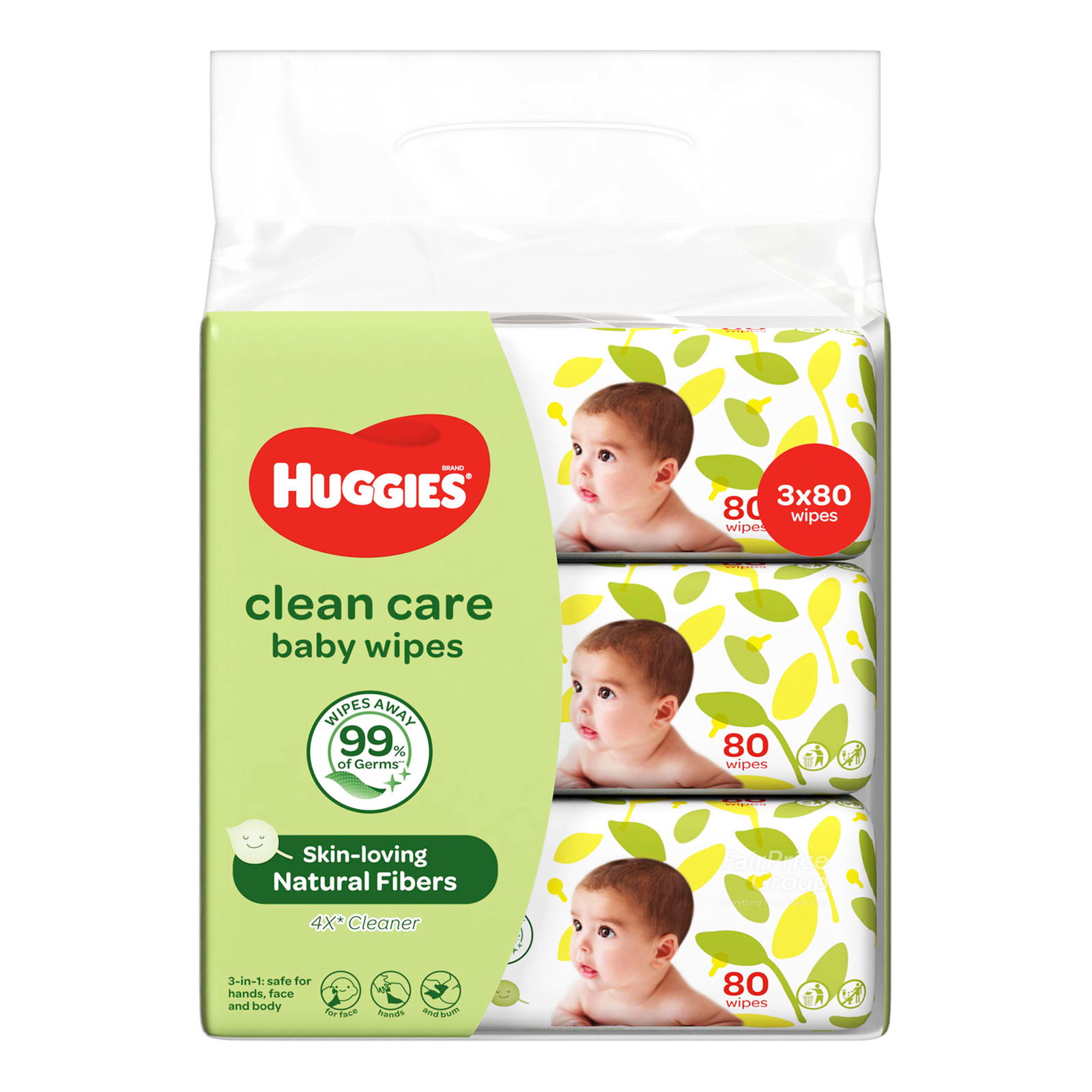 Huggies Baby Wipes - Clean Care