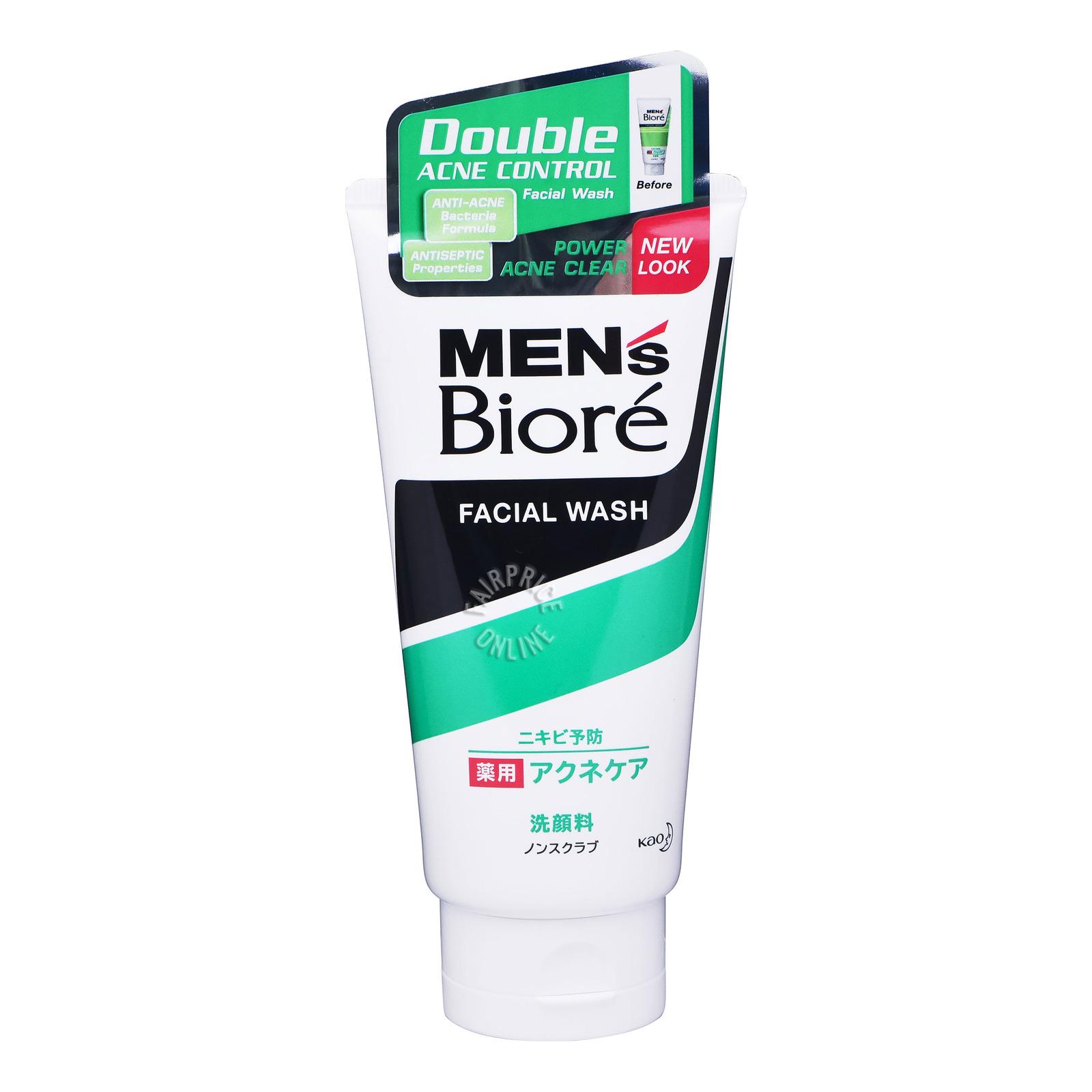 Biore Men's Facial Wash - Double Acne Control