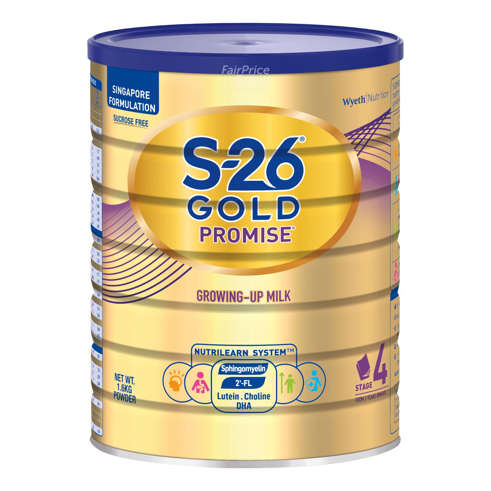 Wyeth S26 Promise Gold Grow Up Milk Formula - Step 4