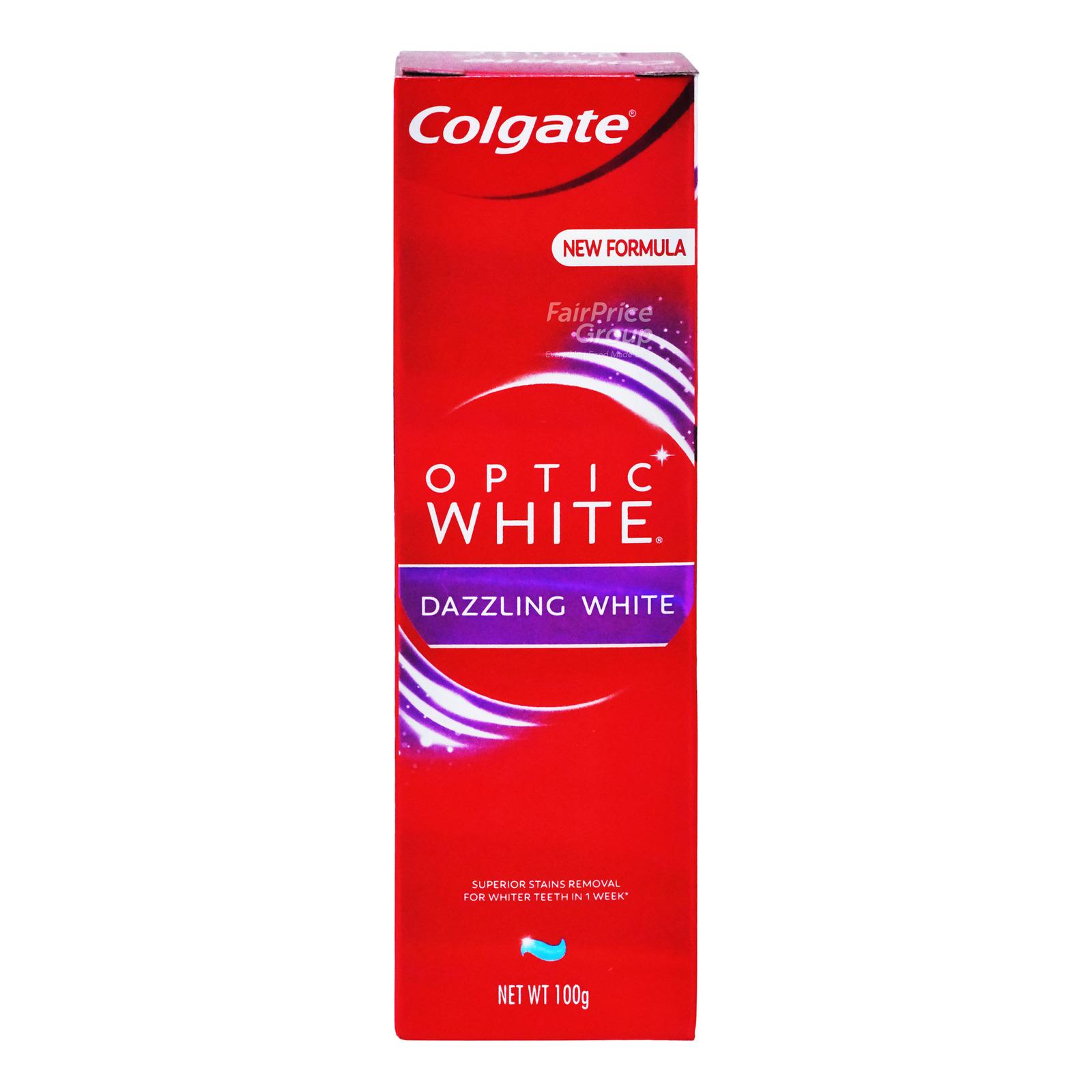 Colgate Optic White Toothpaste - Dazzling Mint