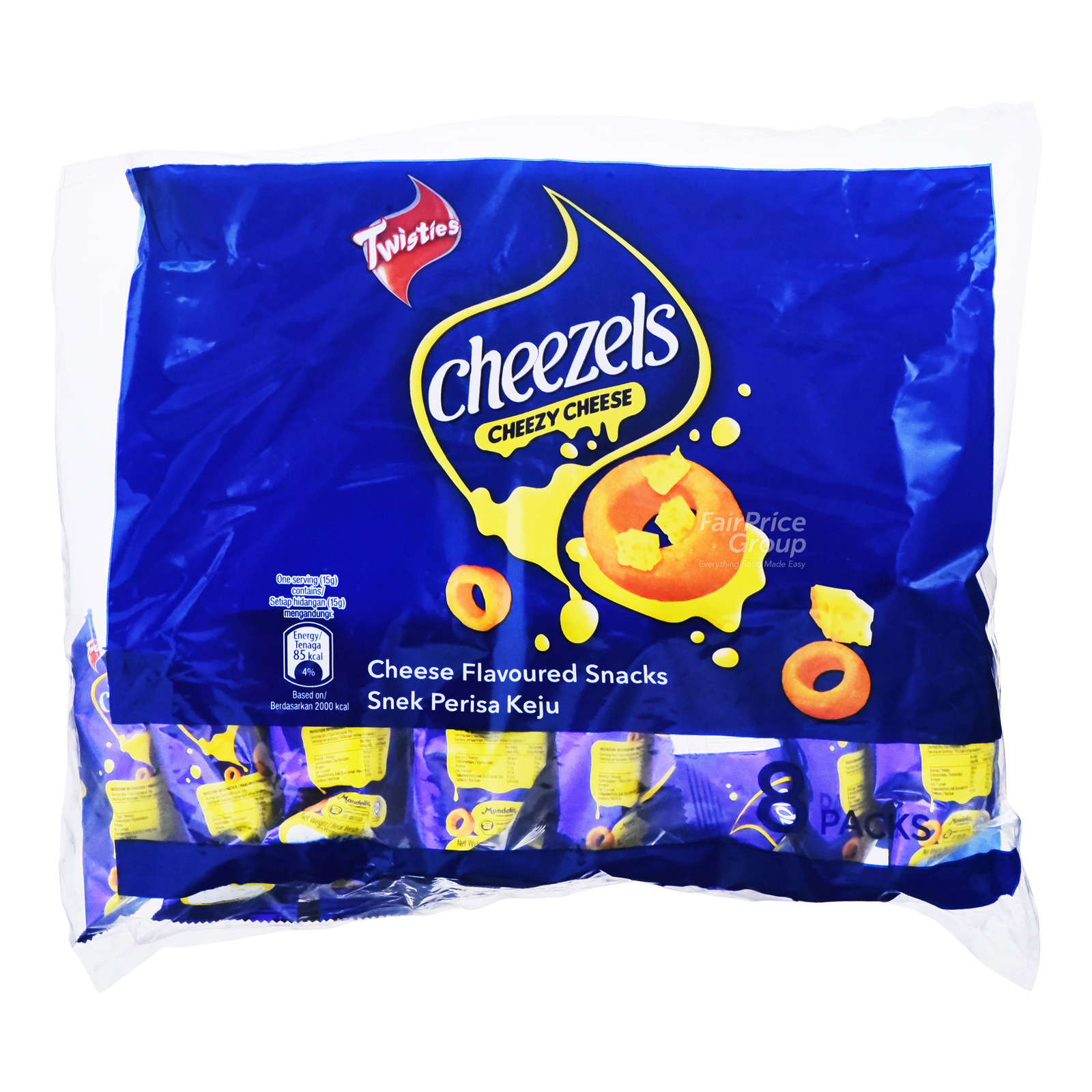 Cheezels Cheese Rings Snack - Original (Multipack)