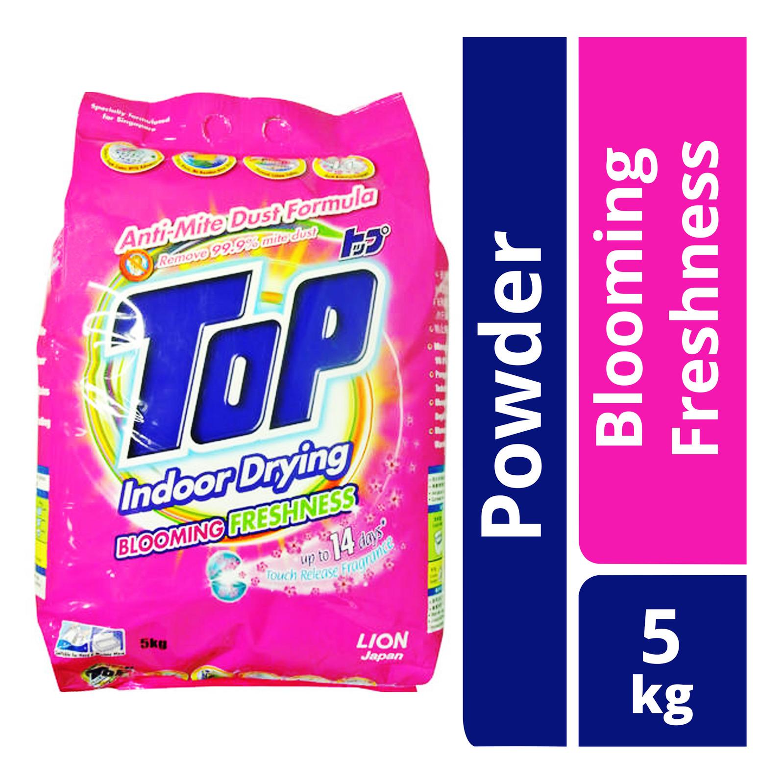 Top Indoor Drying Washing Powder - Blooming Freshness