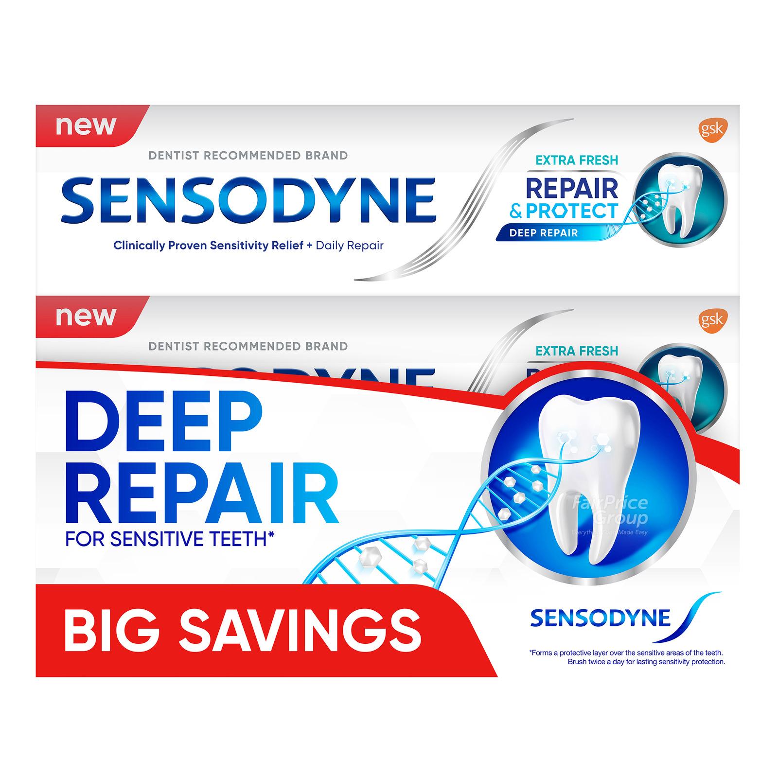 Sensodyne Toothpaste - Repair & Protect (Extra Fresh)