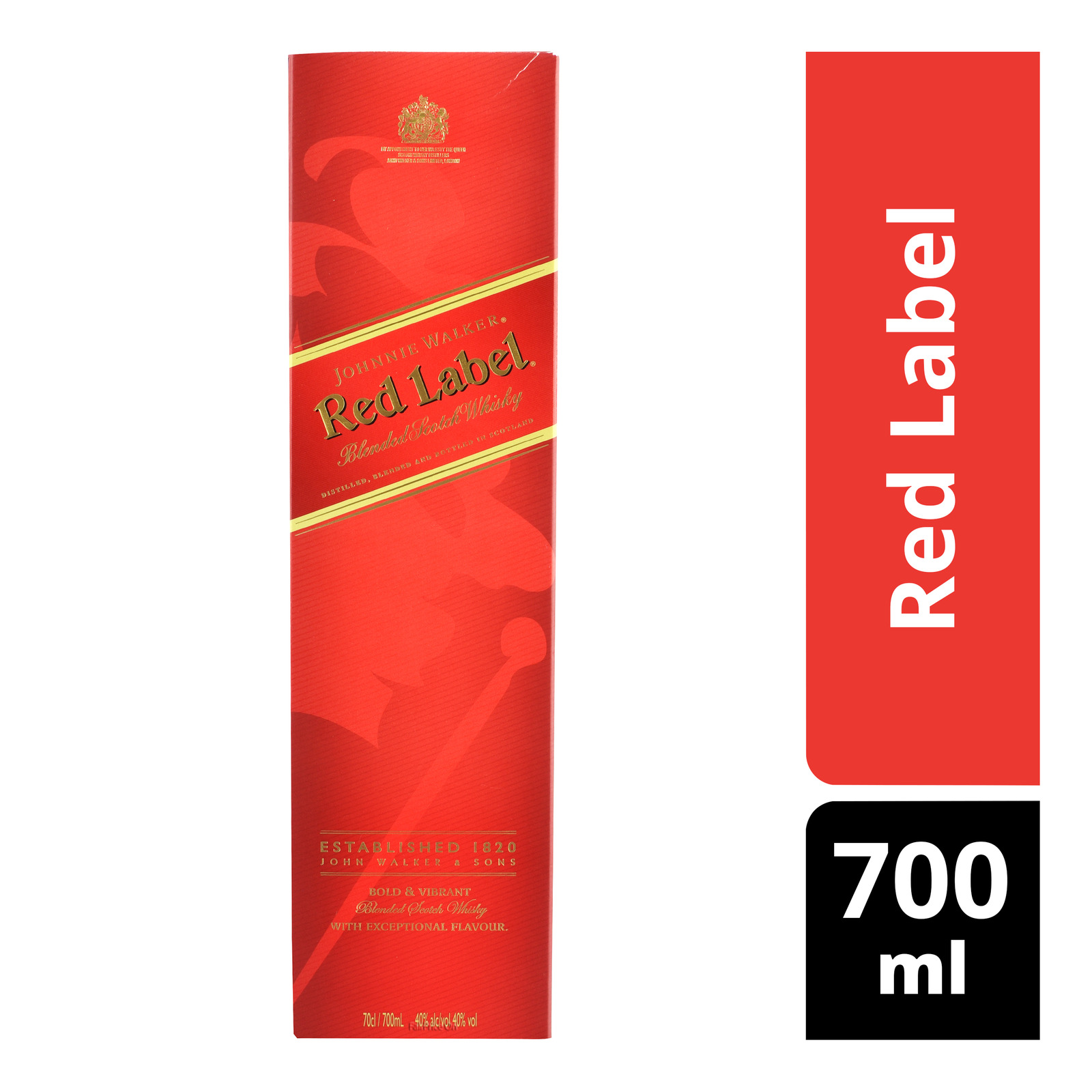 Johnnie Walker Scotch Whisky - Red Label