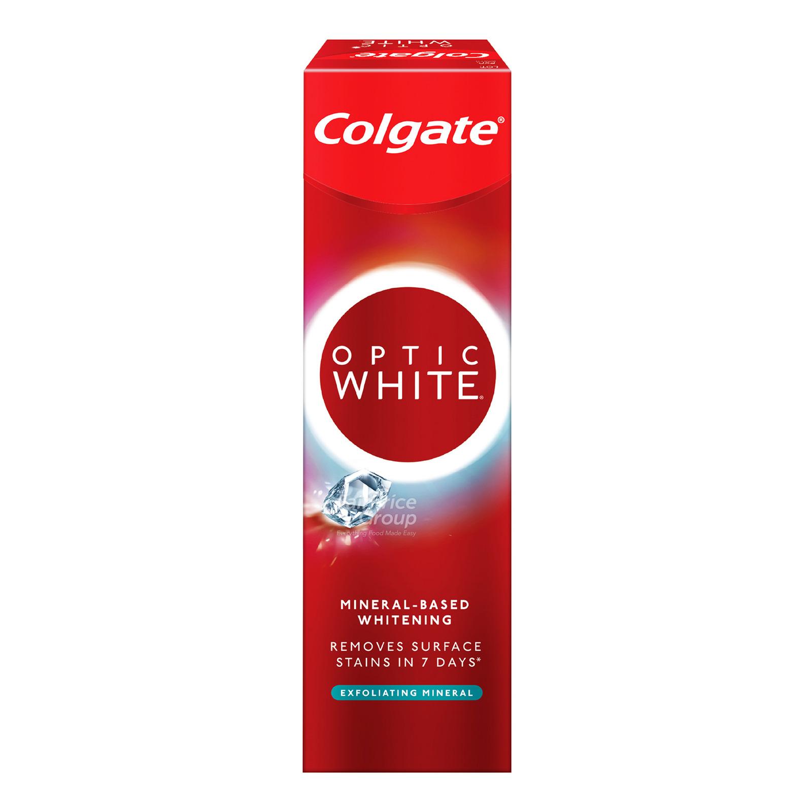Colgate Optic White Toothpaste - Plus Shine
