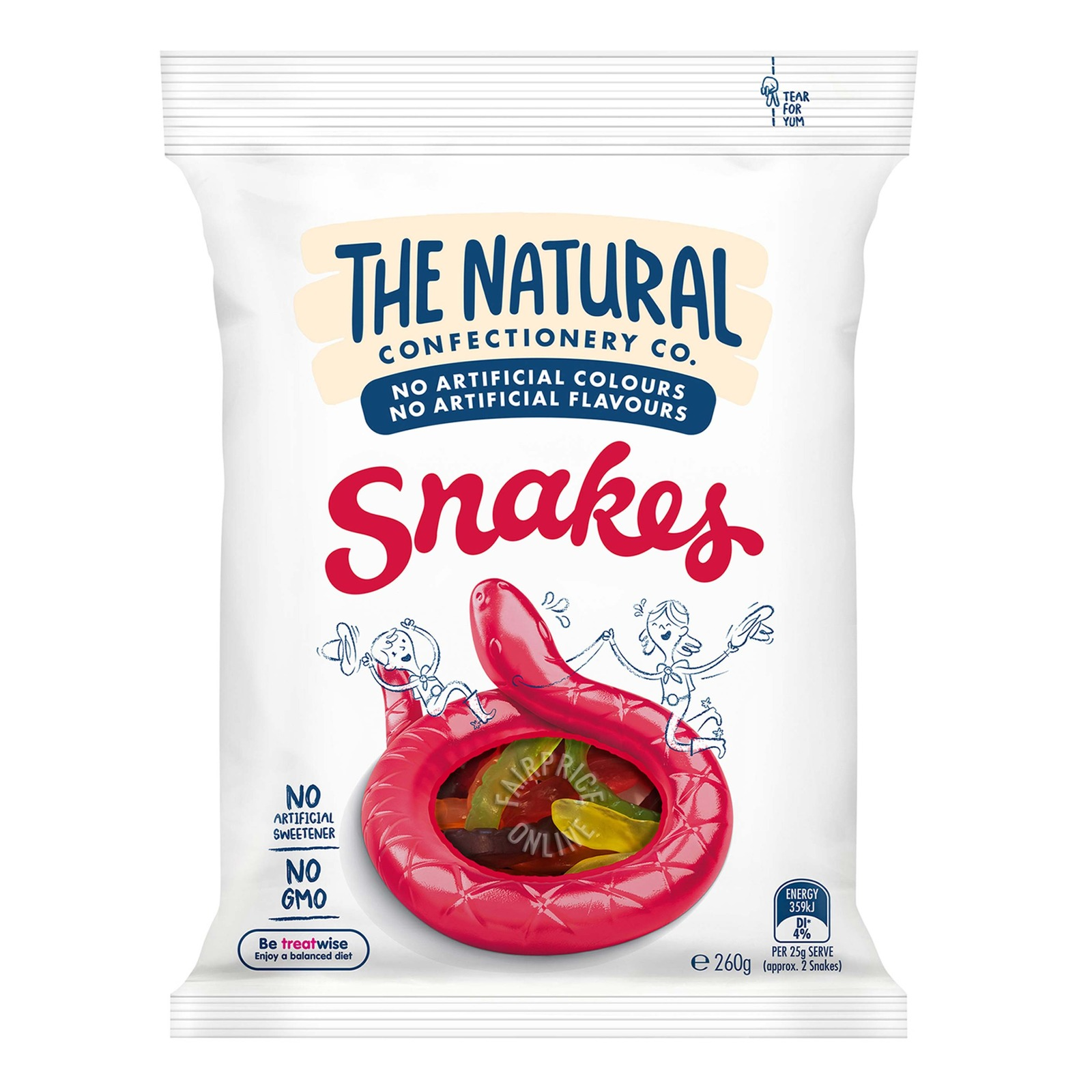 TNCC Fruity Gummies - Snakes