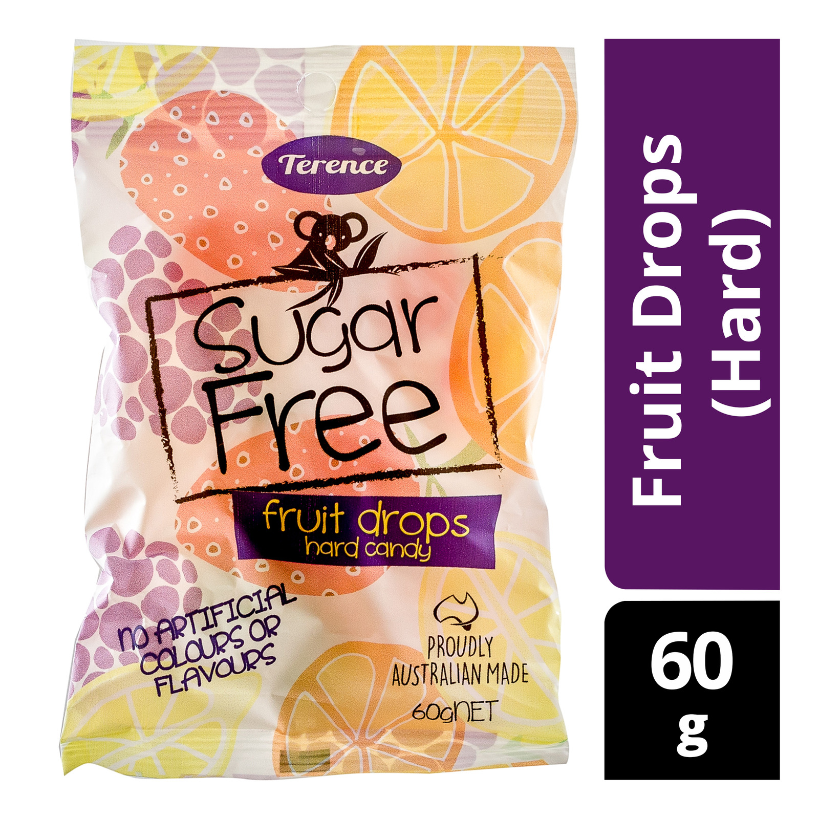 Terence Sugar Free Candy - Fruit Drops (Hard)