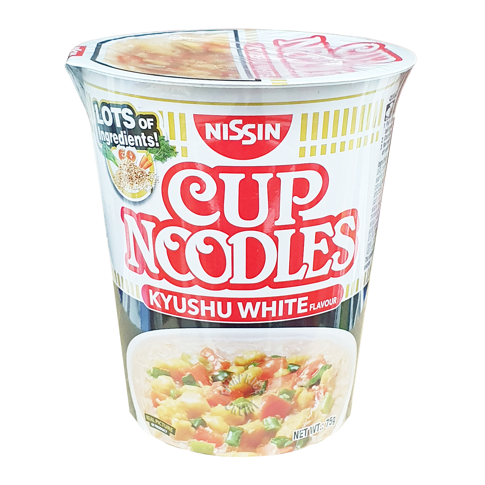 Nissin Instant Cup Noodles - Kyushu White