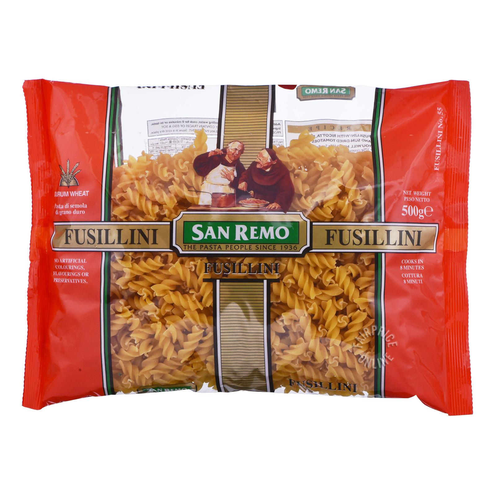 San Remo Pasta Fusilli No. 56