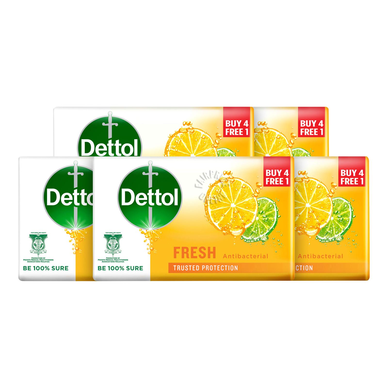 Dettol Anti-Bacterial Bar Soap - Fresh