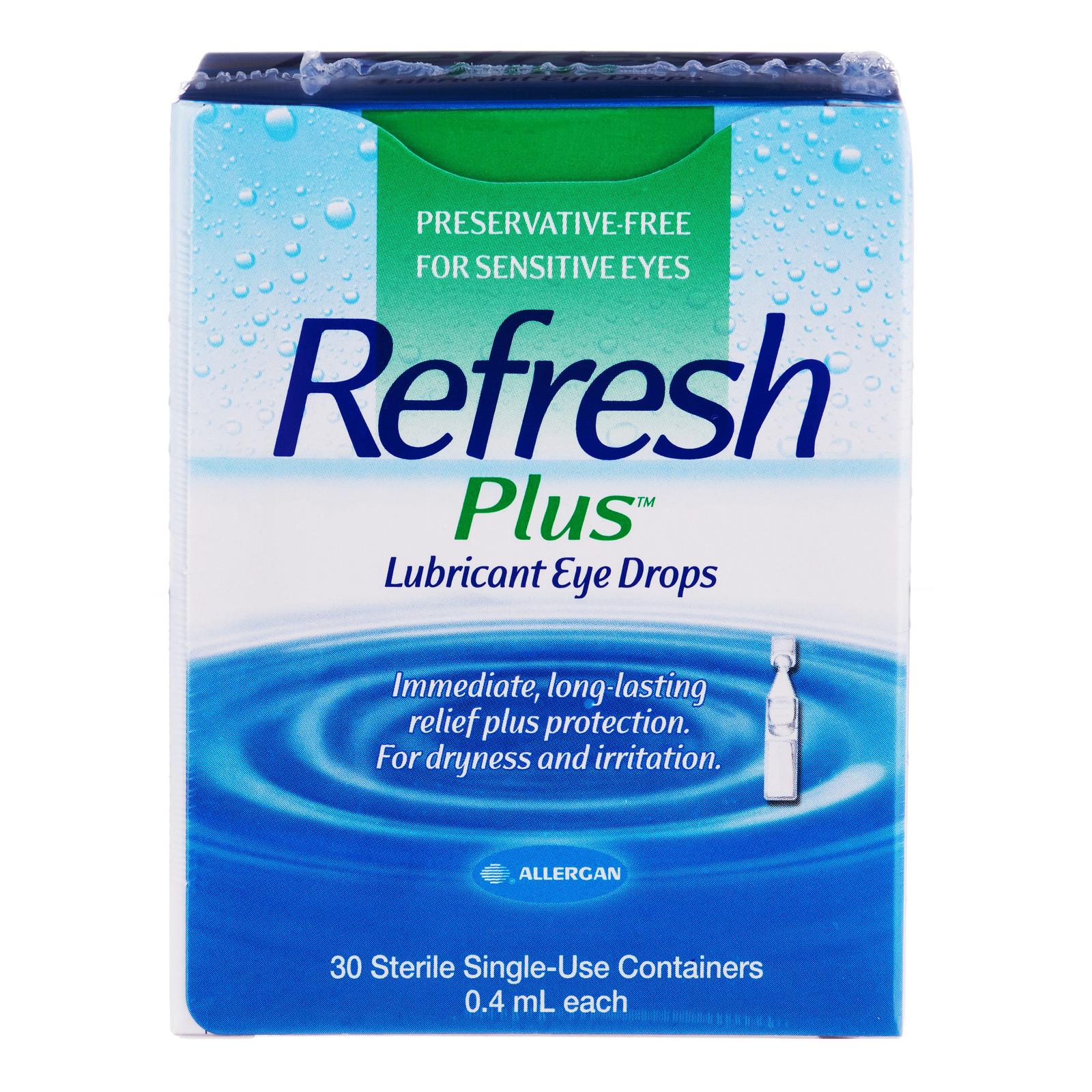 Refresh Lubricant Eye Drops - Plus