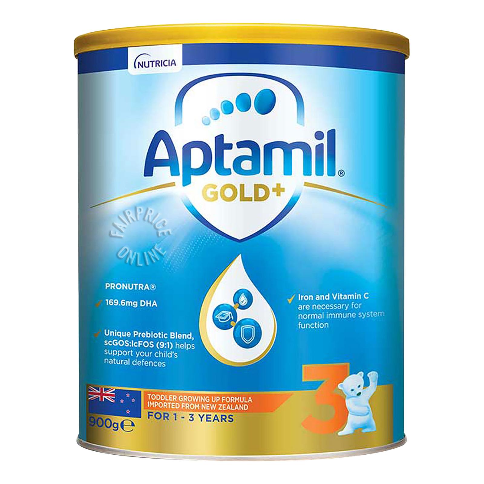 Aptamil Gold+ Toddler Growing Up Milk Formula - Stage 3