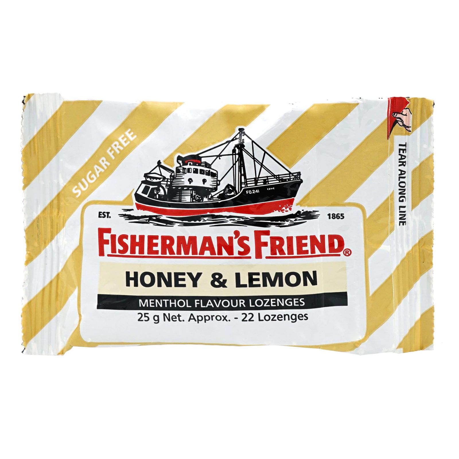 Fisherman's Friend Sugar Free Lozenges - Honey & Lemon