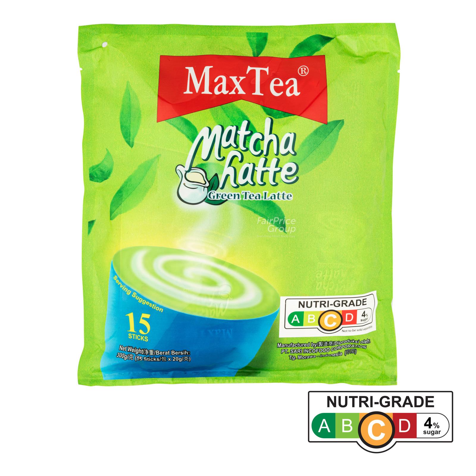 MaxTea Instant Drink - Matcha Latte (Green Tea)