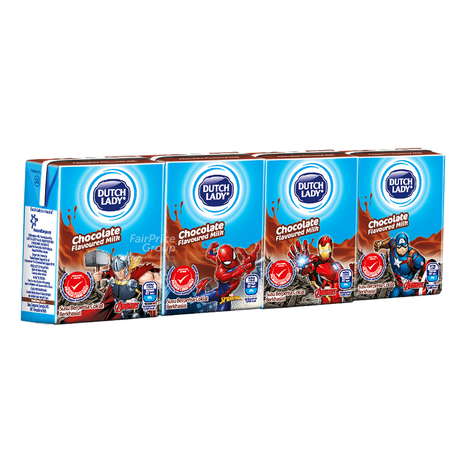 Dutch Lady Marvel UHT Kid Milk - Chocolate