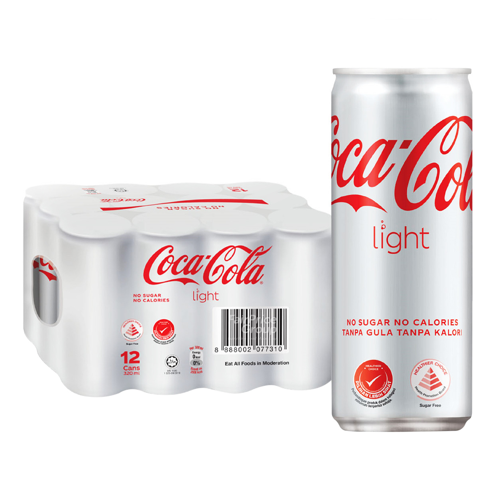 Coca-Cola Can Drink - Light