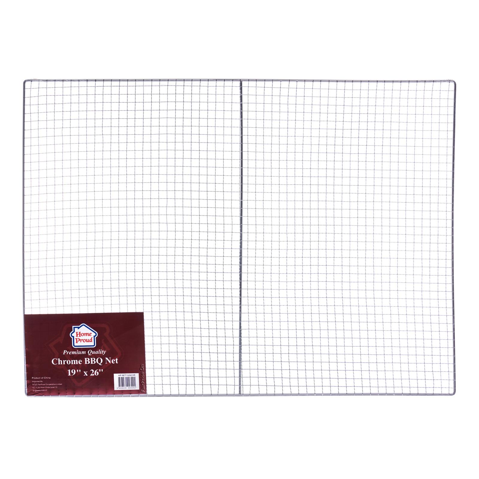 HomeProud Chrome BBQ Net - Rectangle