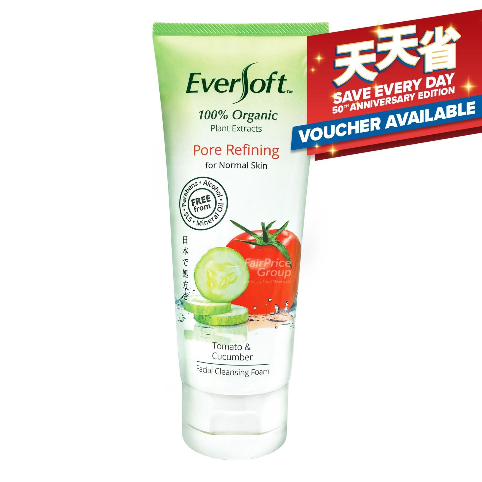 Eversoft Organic Cleanser Foam - Pore Refining