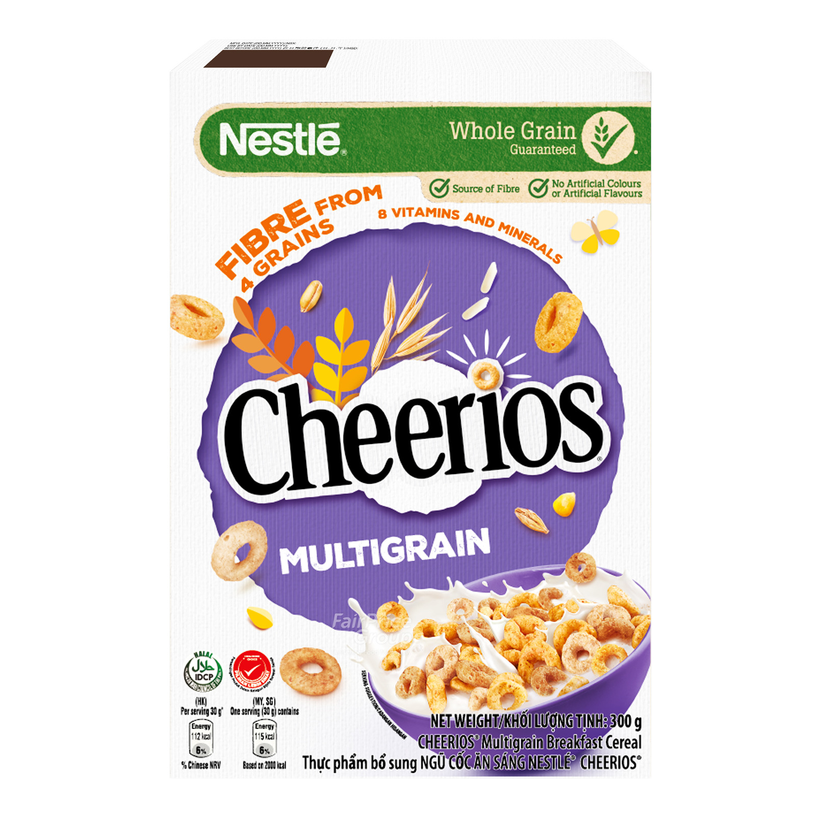 Nestle Cereal - Cheerios (Multi Grain)