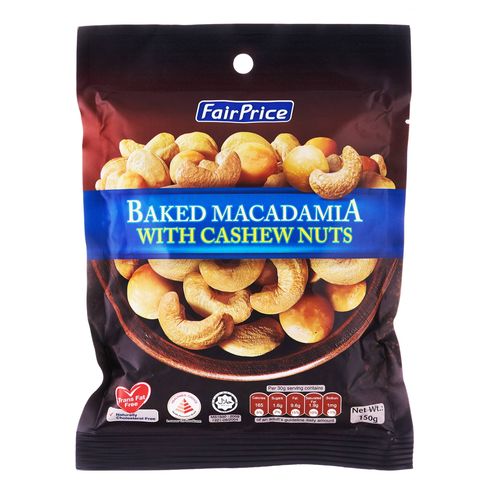 FairPrice Baked Macadamia with Cashew Nuts