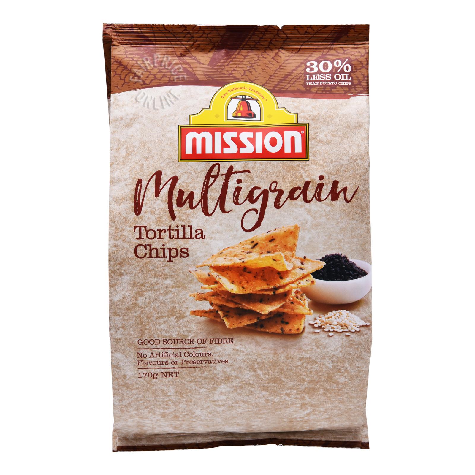 Mission Tortilla Chips - Multigrain
