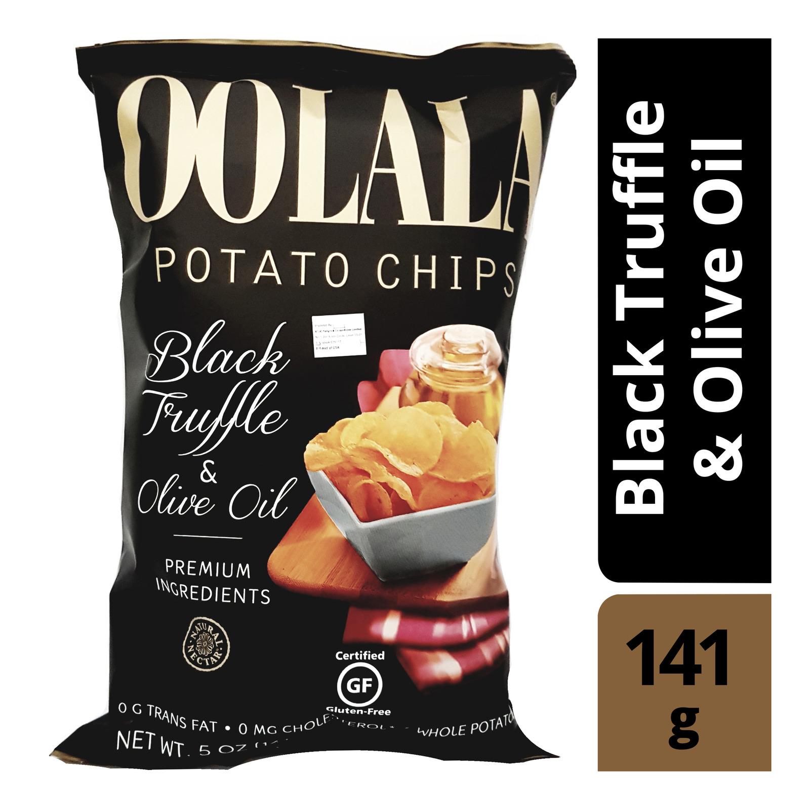 Oolala Potato Chips - Black Truffle & Olive Oil