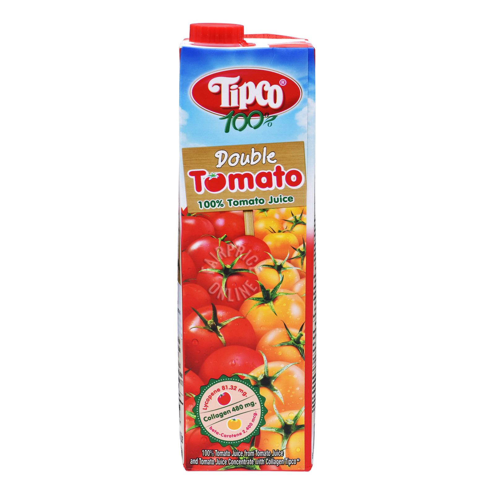 Tipco 100% Fruit Juice - Double Tomato