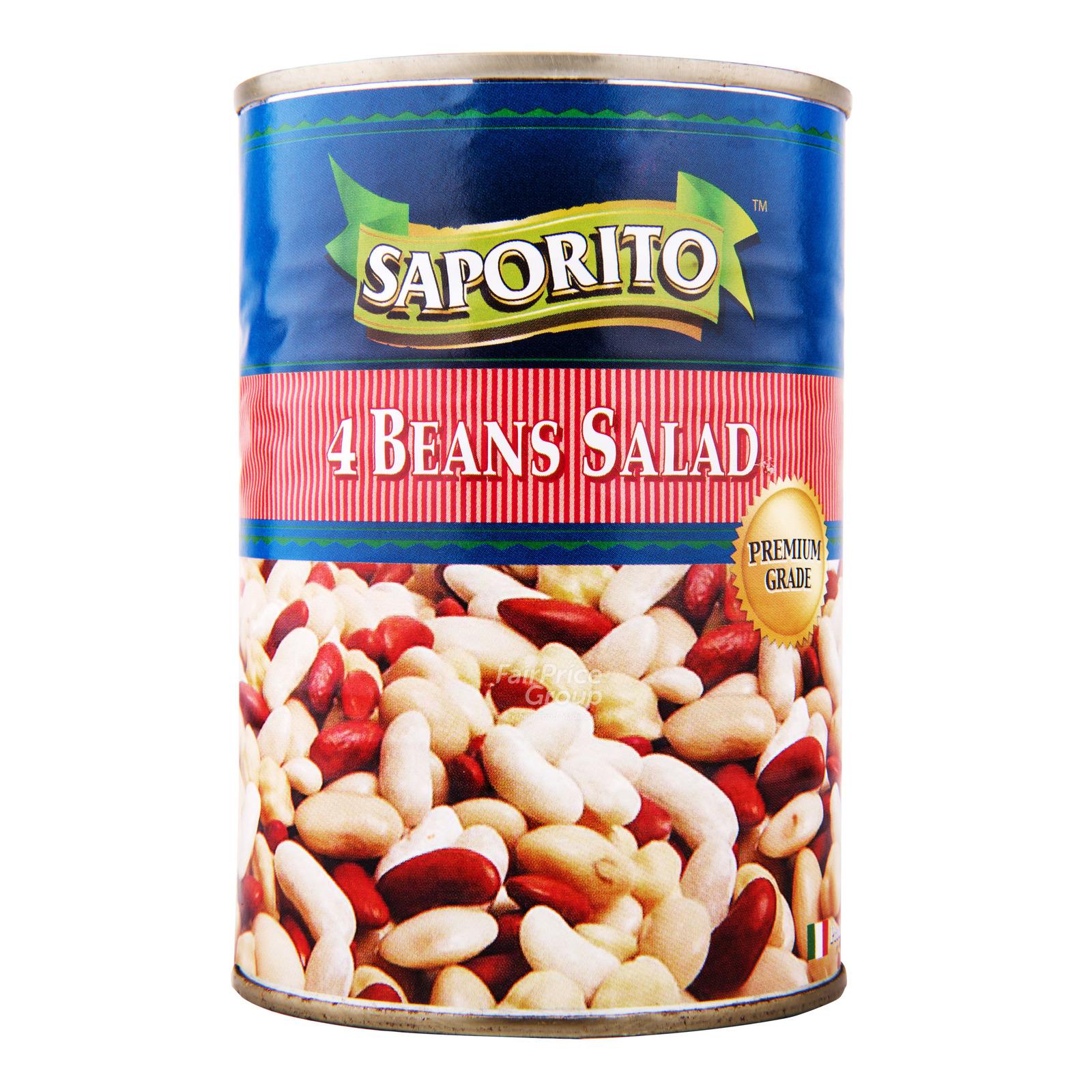 Saporito Can Food - 4 Beans Salad