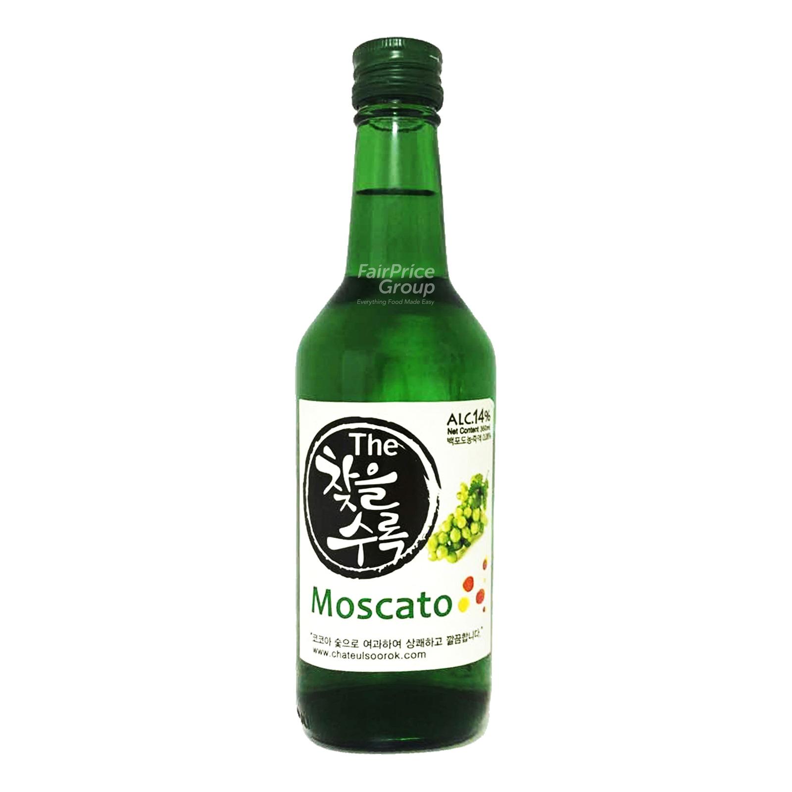 Chateulsoorok Bottle Soju - Moscato