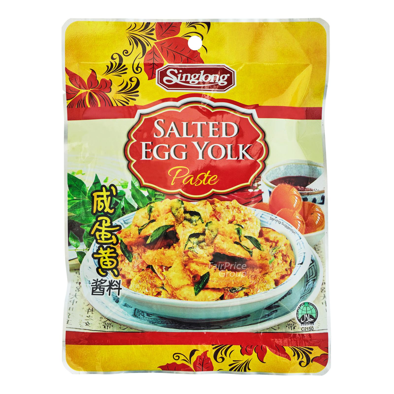 Singlong Salted Egg Yolk Paste