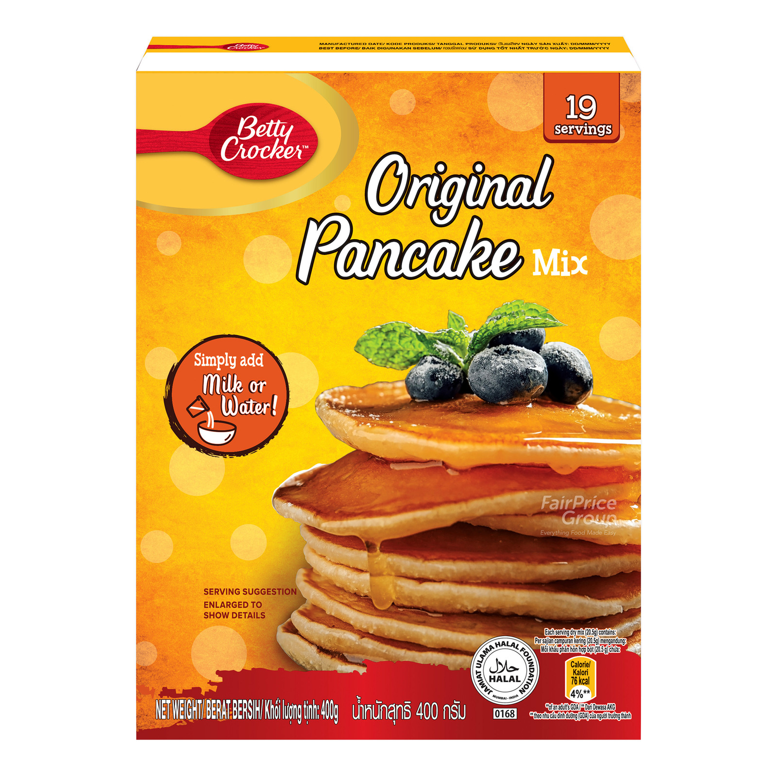 Betty Crocker Pancake Mix - Original