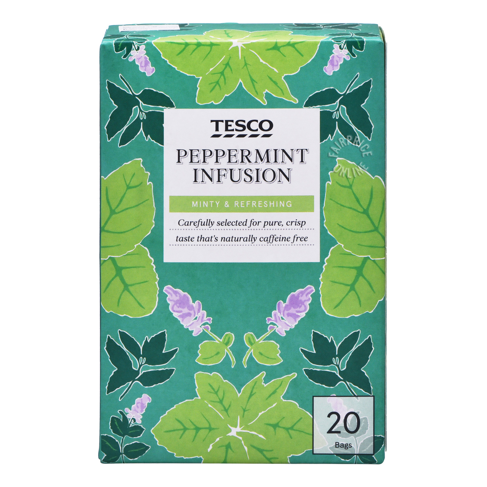DILMAH Tea Bags - Pure Peppermint Tea 20sX1.5g
