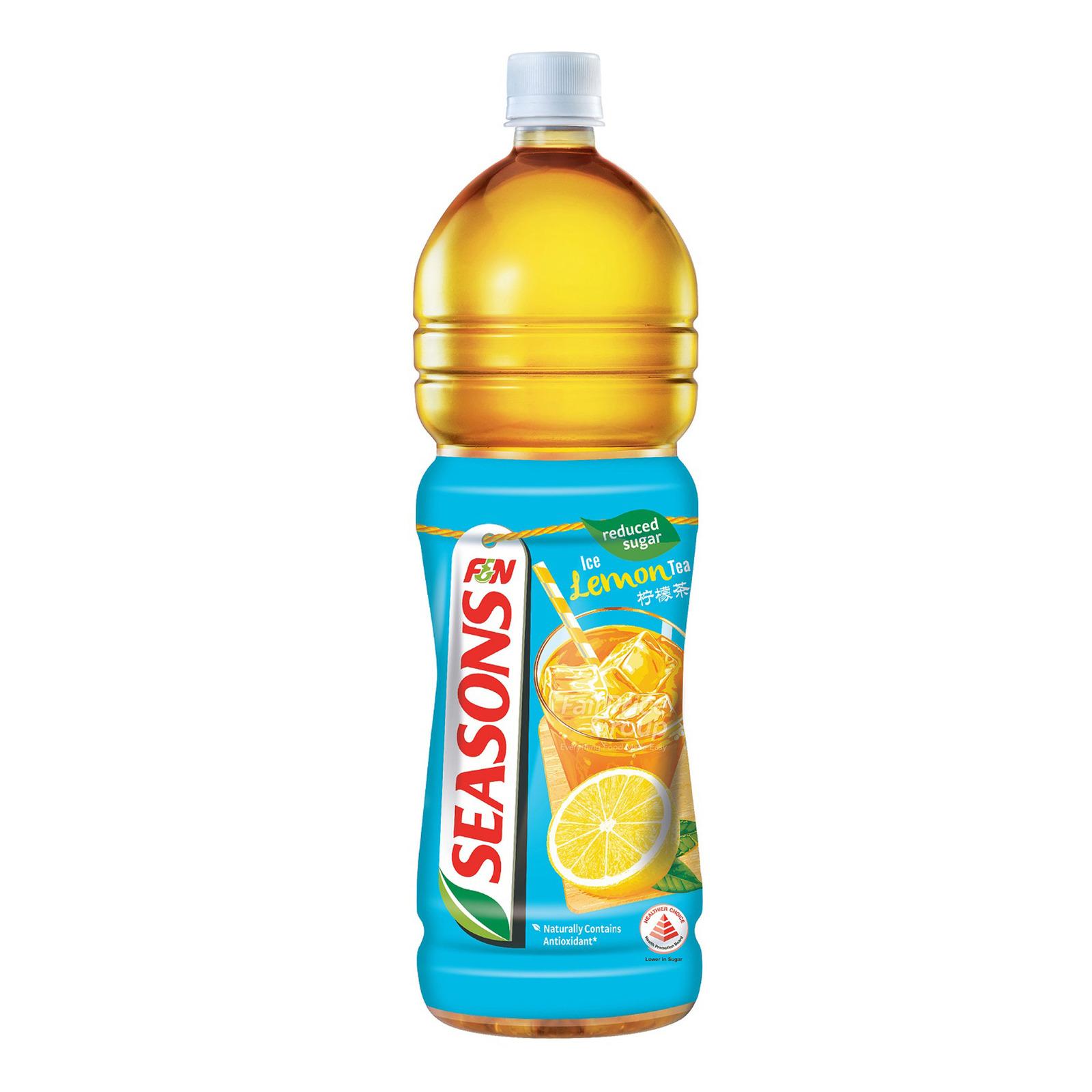 F&N Seasons Bottle Drink- Ice Lemon Tea (Reduced Sugar)