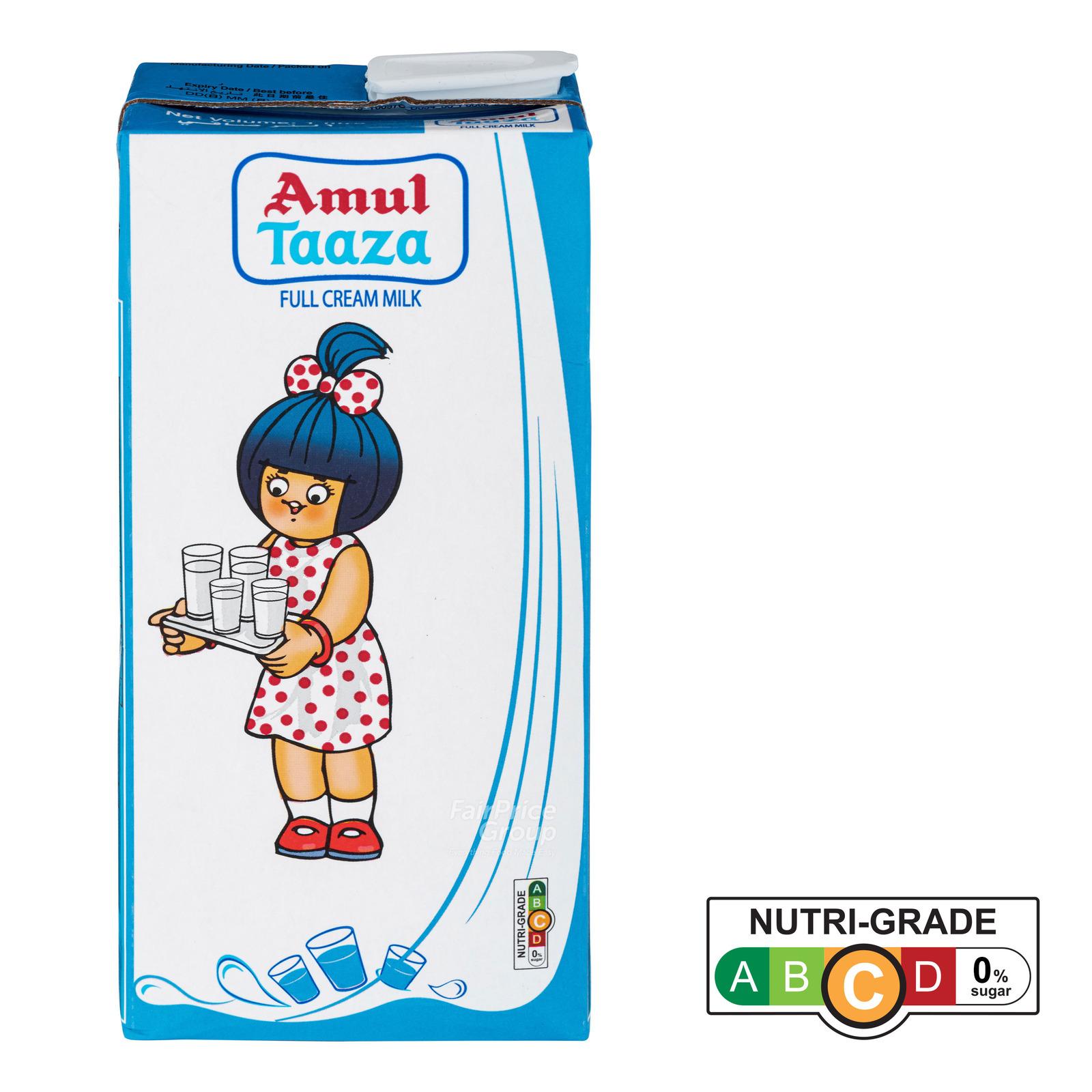 Amul Taaza UHT Full Cream Milk