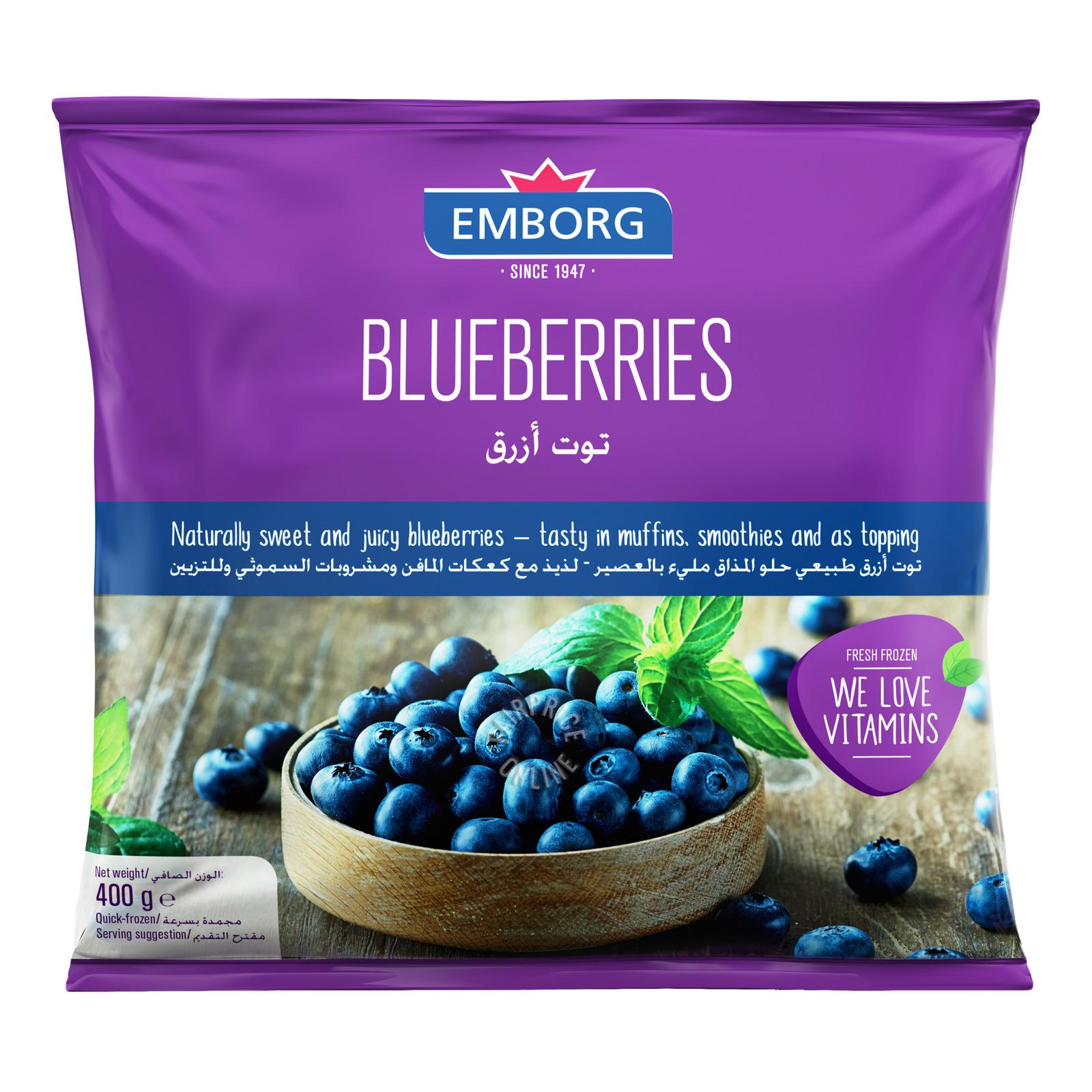Emborg Frozen Blueberries