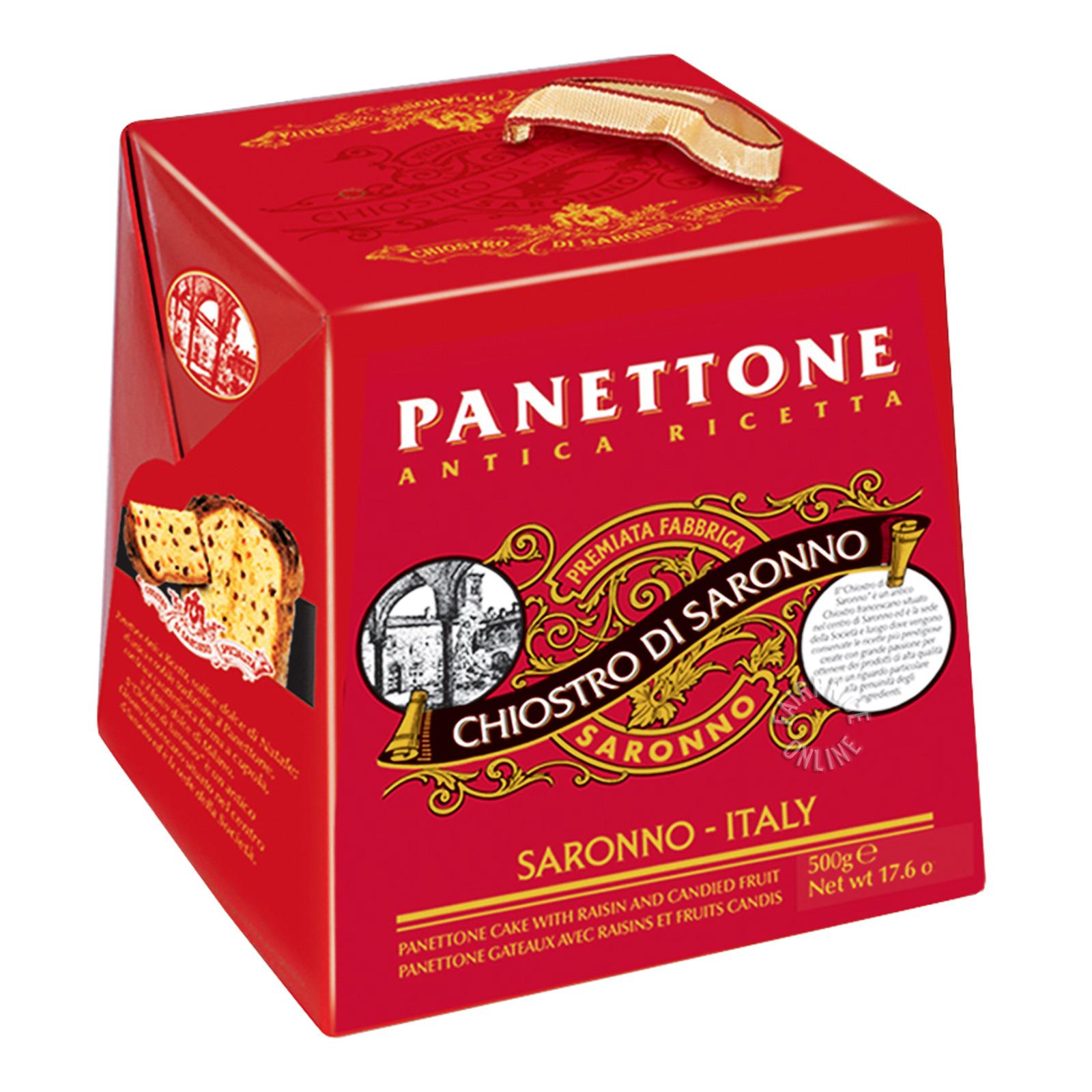 Chiostro Di Saronno Panettone Cake - Traditional
