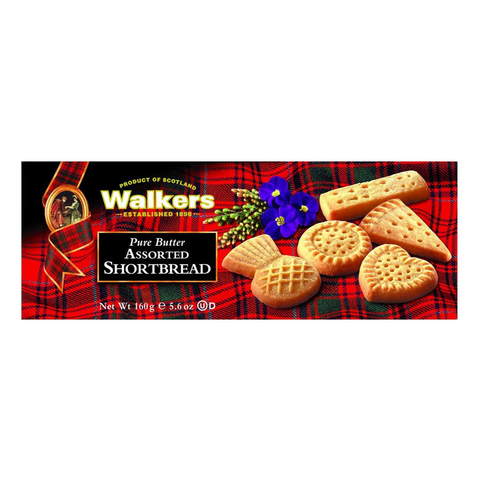 Walkers Shortbread Cookies - Assorted