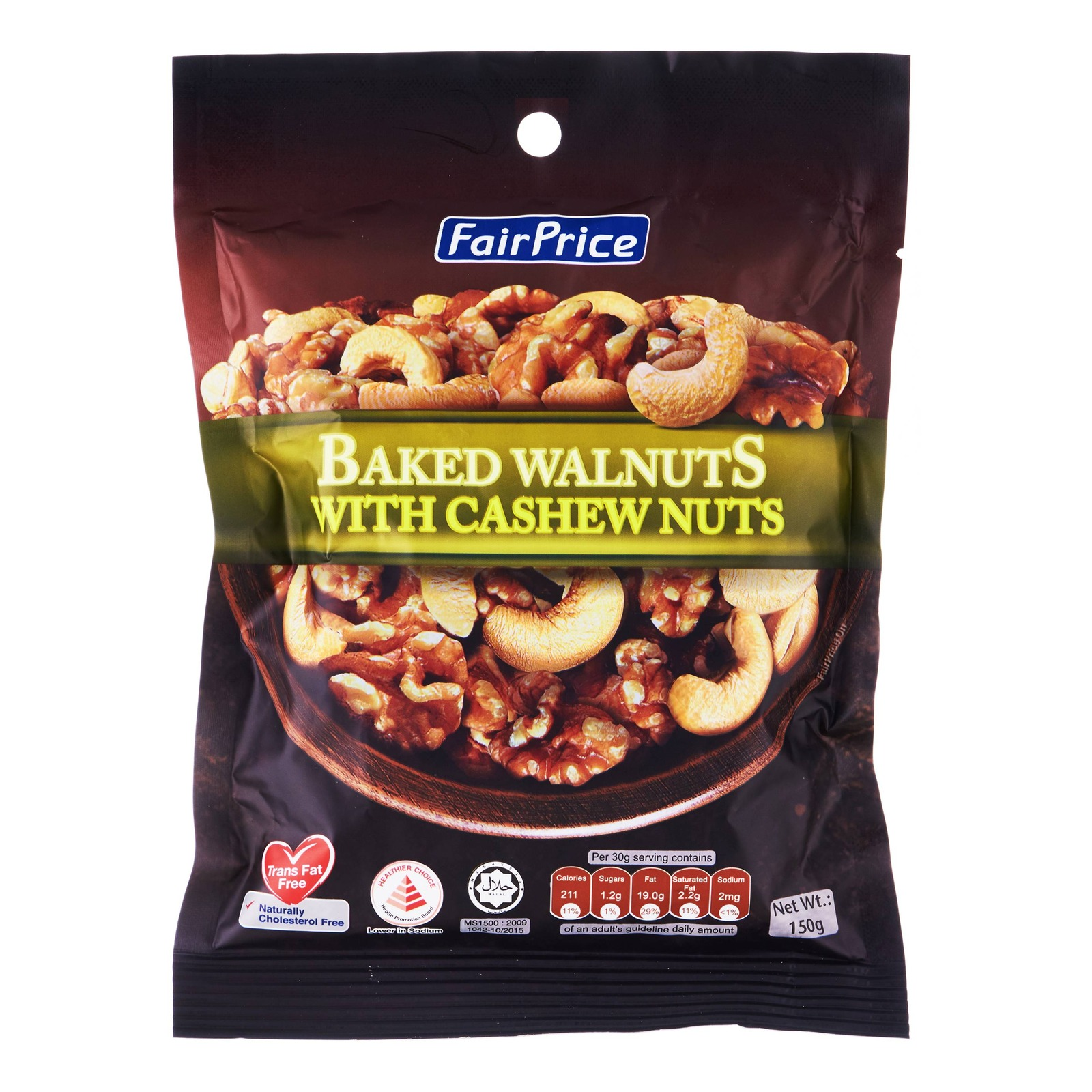 FairPrice Baked Walnuts with Cashews Nuts